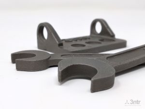 Steel parts made with zWax