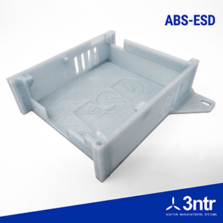 Polimero 3d ABS ESD+ 3ntr