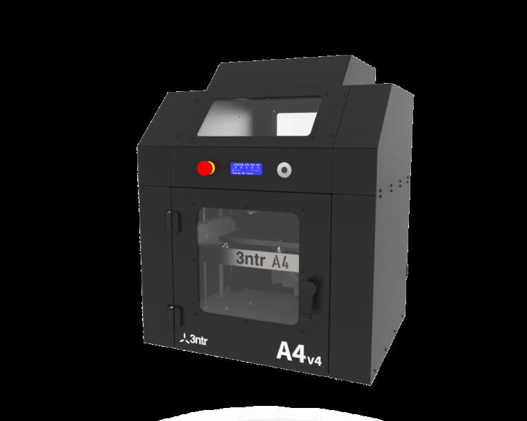 Stampante 3D A4v4 3ntr