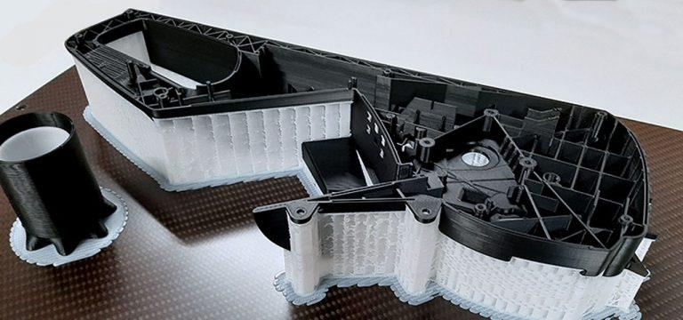 Parti stampate in 3D con 3ntr