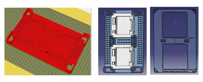 Schermate di software per la stampa 3D
